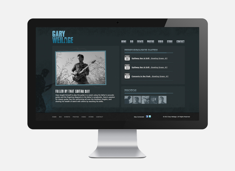 gary weilage music site